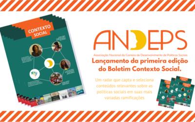 Andeps divulga Boletim de 2017 – Contexto Social