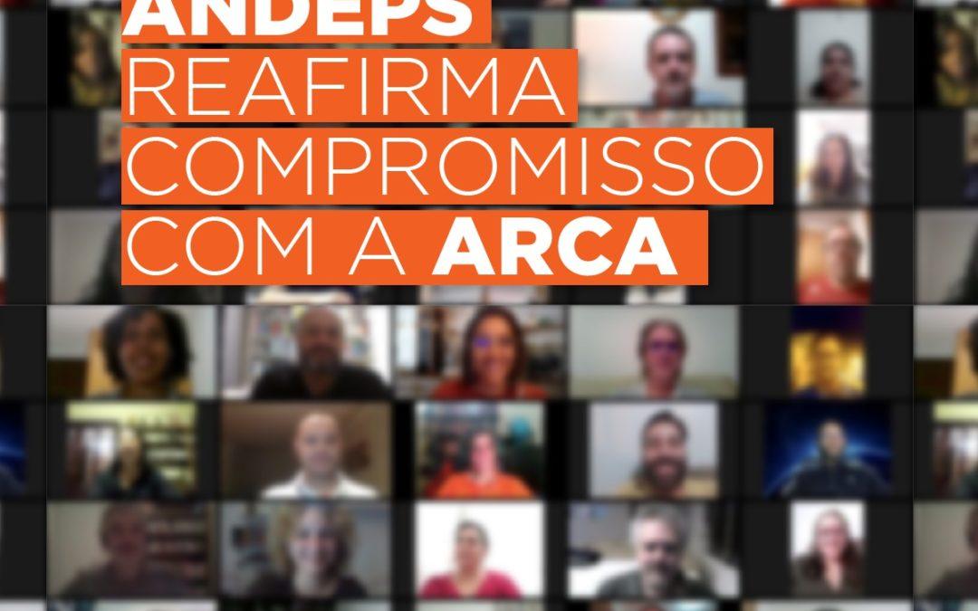 ANDEPS participa do Encontro de Refundação da ARCA