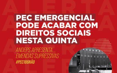 URGENTE: a PEC Emergencial vai passar a boiada na área social